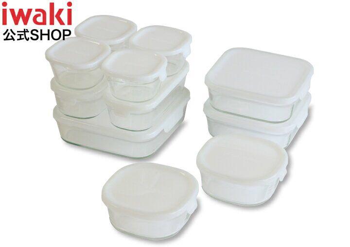 容器 iwaki 保存