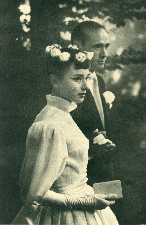 Mel Ferrer and Audrey Hepburn's Wedding                                                                                                                                                                                 More