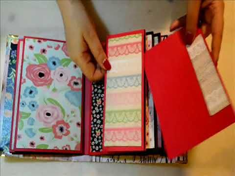 Album with triple-developing pages, and a love theme http://happyscrappyro.blogspot.ro/