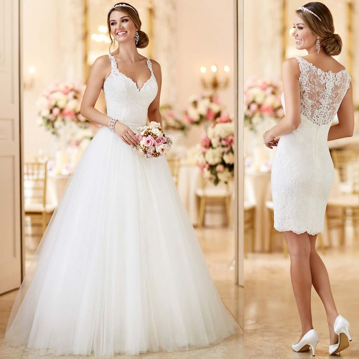 2 in 1 Wedding Dresses