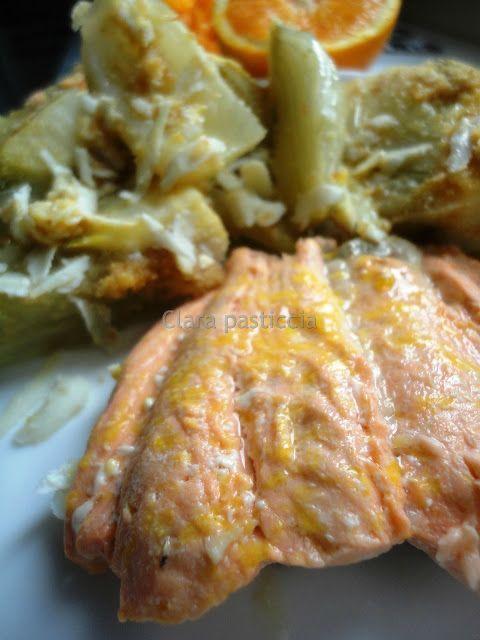 Filetto di Salmone all'Arancia (al microonde)