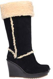 Zwarte Ugg laarzen Aubrie boots