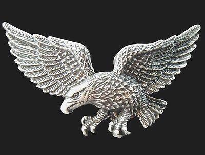 EAGLE AMERICA AMERICAN BIKER USA ANIMAL BIRD BELT BUCKLE #eagle #flyingeagle #falcon #baldeagle #eaglebuckle #beltbuckle #buckle #buckles