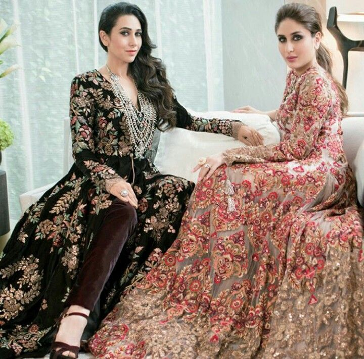 """I'm only saving this because the original caption said """"Kareena Kapoor and her sister"""" and I'm kind of offended that Karishma is now only known as """"her sister"""" when she was an actress in some pretty major 90s films first..."""