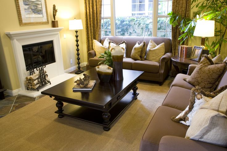 46 swanky living room design ideas make it beautiful for Taupe living room ideas