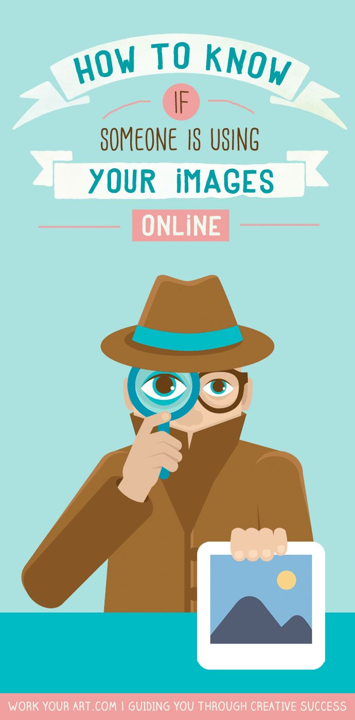 How to find out if someone is using images of your work online