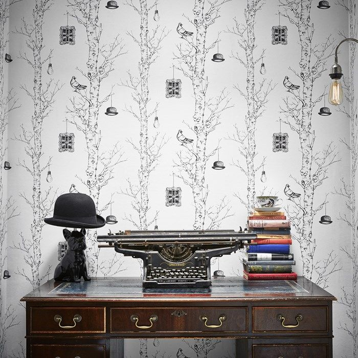 Eccentric Black / White Wallpaper by Graham and Brown