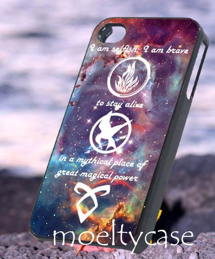 hunger games and divergent phone case - Google Search