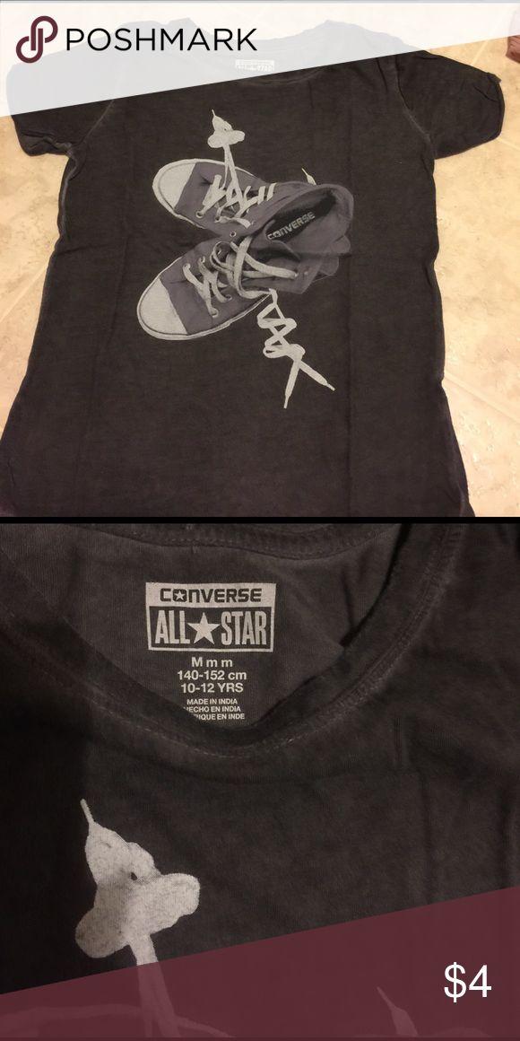 Converse t shirt girls T shirt Converse Shirts & Tops Tees - Short Sleeve