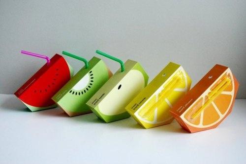 Suco de fruta: Idea, Fruit Drinks, Juiceboxes, Juice Boxes, Packaging Design, Boxes Design, Juice Packaging, Student Work, Kid