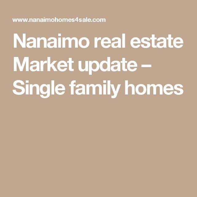 Nanaimo real estate Market update – Single family homes