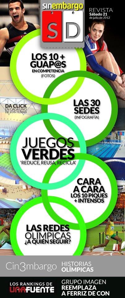 Infografía: Las Sedes Olímpicas  http://www.sinembargo.mx/21-07-2012/304391    #Londres 2012: Los Primeros Juegos #Olímpicos de Arquitectura Sostenible http://www.sinembargo.mx/21-07-2012/30438