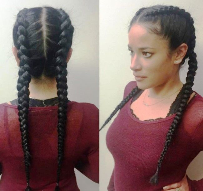 French Braid Hairstyles For Black Hair In 2020 French Braid Hairstyles Braids For Black Hair Braided Hairstyles