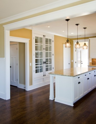 open kitchen (until you probably put all your appliances in it..haha....
