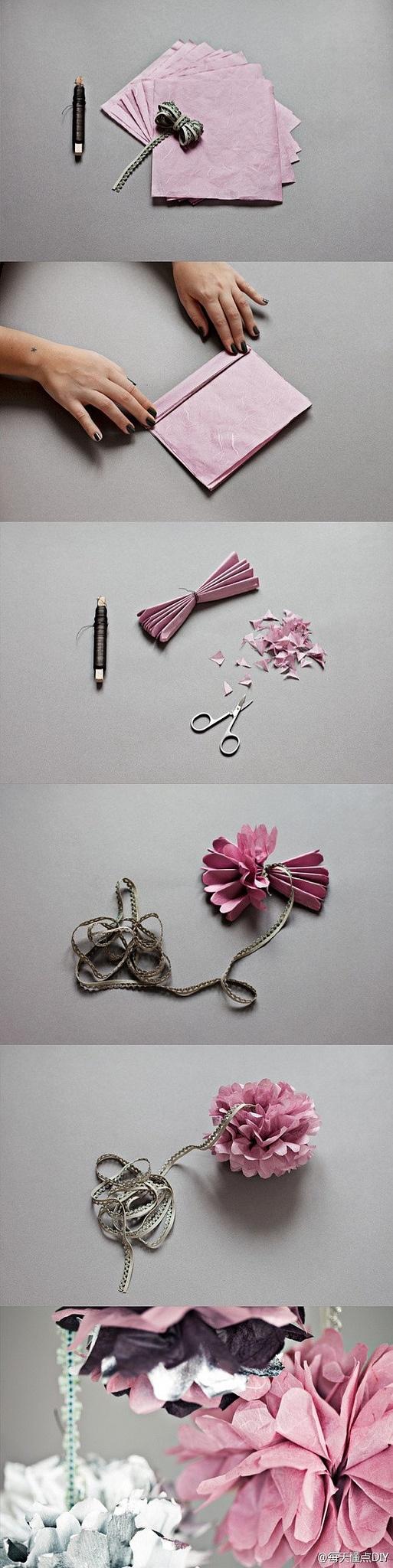 DIY papper flowers!