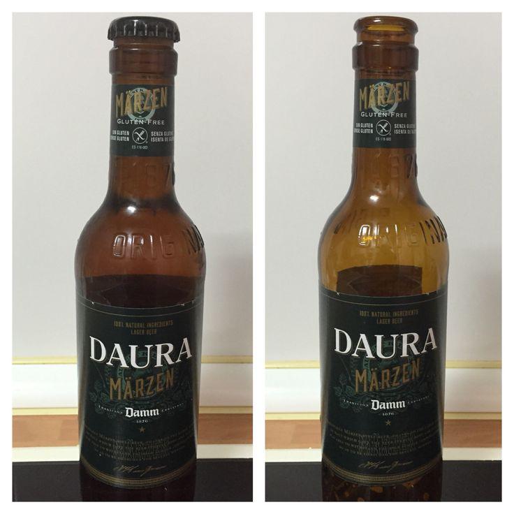Daura marzen. Rubia. 7,2% alcohol. Cerveza sin gluten con un sabor agradable. No tiene factores negativos. Extraña su alto porcentaje de alcohol.
