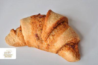 Pizzás croissant 6db v. 8db kisebb - NAGYON JÓ
