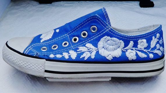 Kalocsa Embroidered SHOES traditional Hungarian by Iboyart on Etsy, $199.00