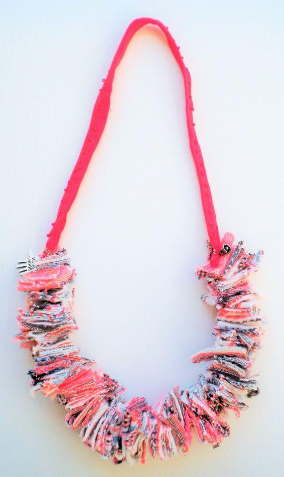 jewelry textile necklace bib necklace bold necklace by Jiakuma