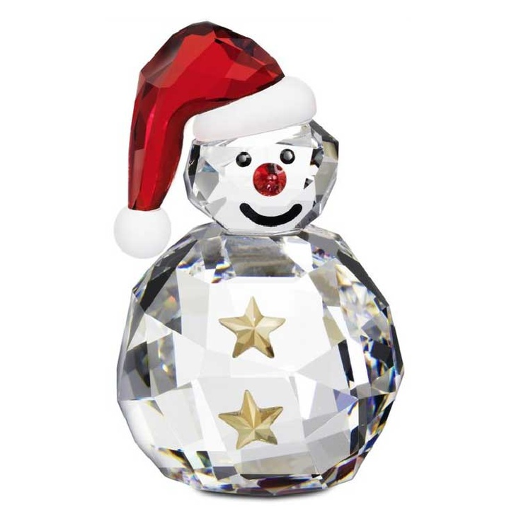 Merry Christmas, Rocking Snowman, Swarovski