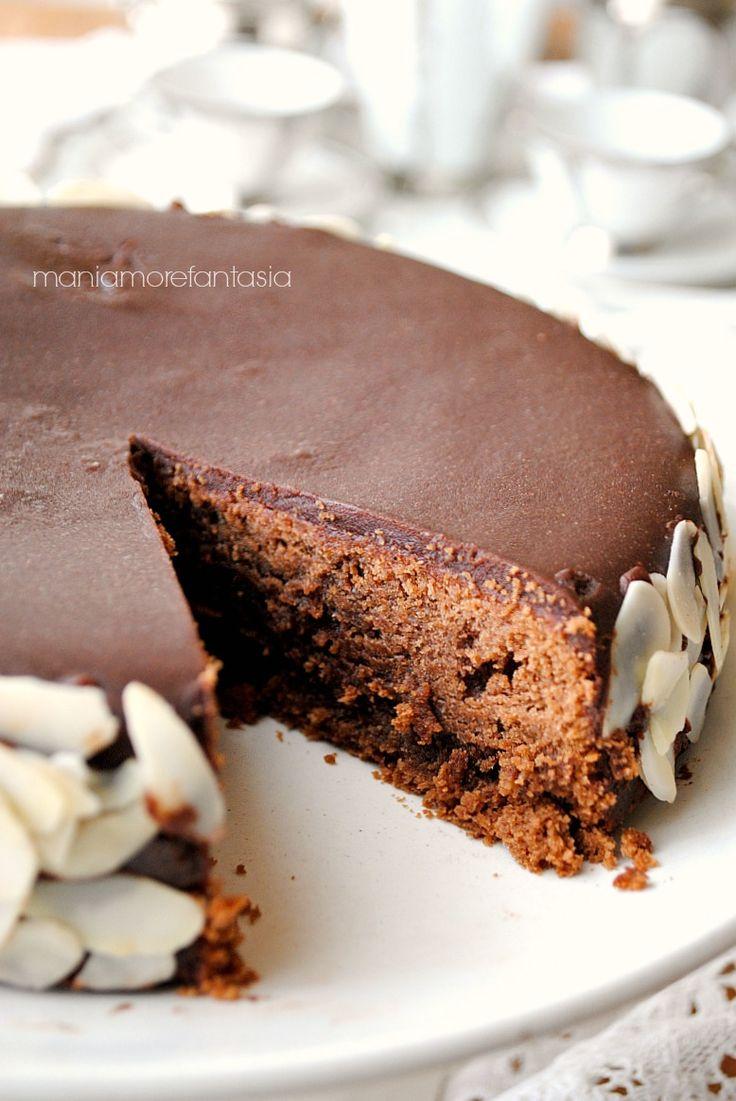 torta reine de saba, torta al cioccolato e mandorle di Julia Child