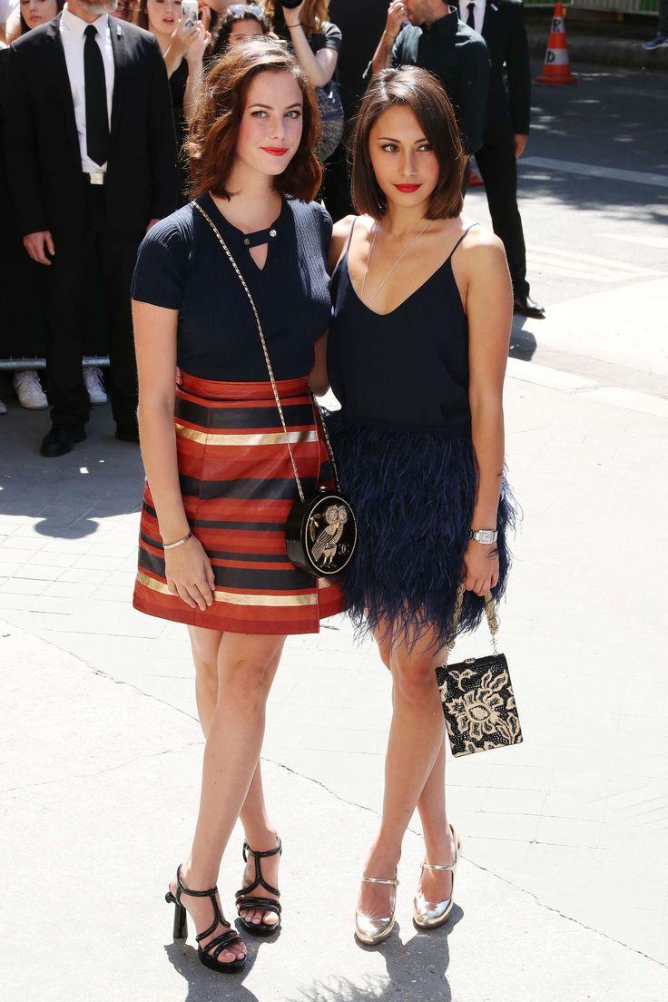 Kaya Scodelario attends Chanel show
