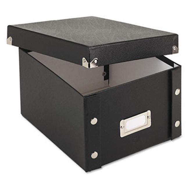 Snap-N-Store Storage Box Black Legal Size Collapsible Desktop File New
