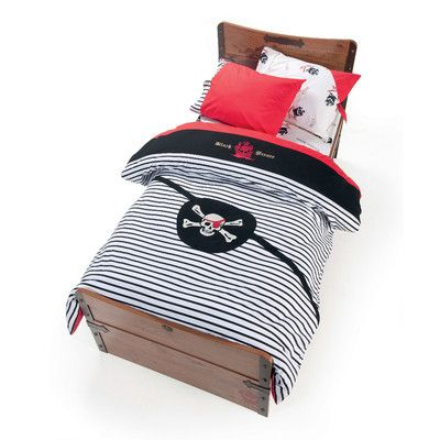 Cilek Pirate 4 Piece Toddler Duvet Set