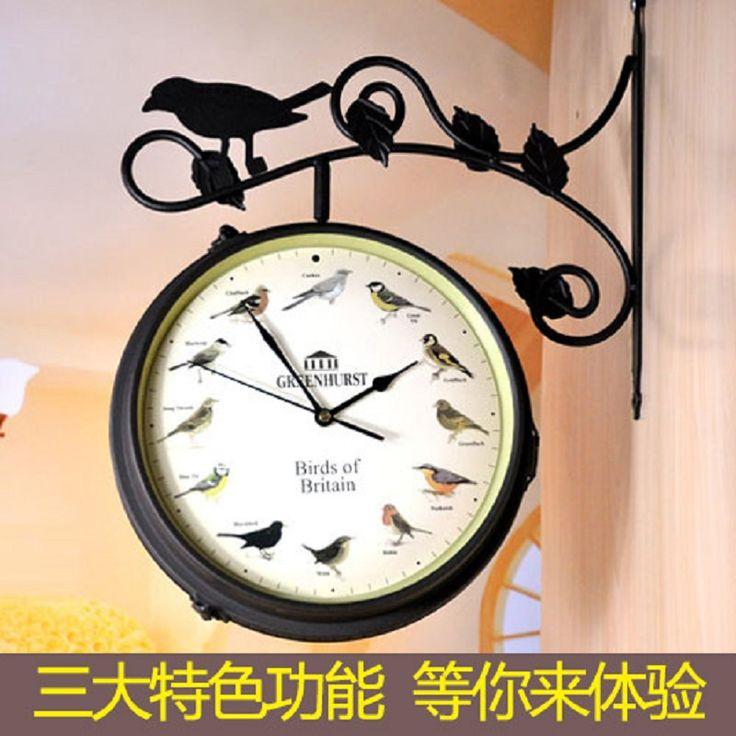 Ferro forjado relógio de parede relógio de sinal rainha lados sala relógio de parede relógio mudo relógio de parede alishoppbrasil