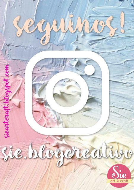 Seguinos en Instagram: sie.blogcreativo