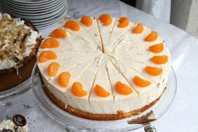 Kaese Sahne Torte - my favorite German cake