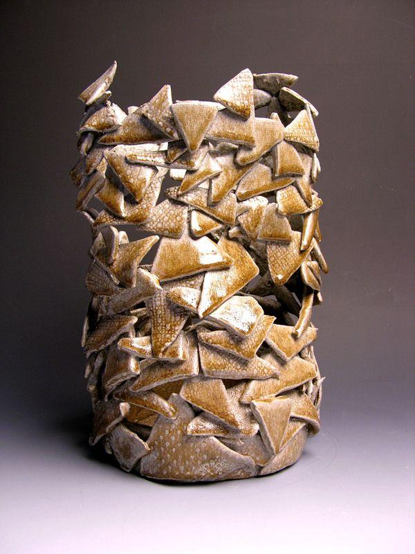 Create a vessel (functional?) using all one shape. Study rhythm/ unity.