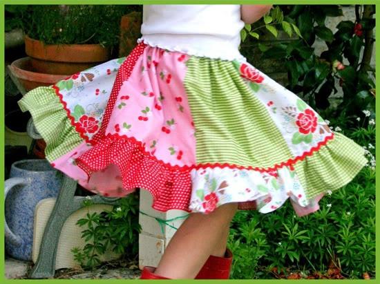 We love the twirly skirts!