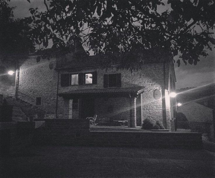 night time at Cà Maranghi