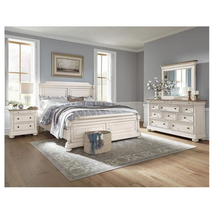 Willow 6 Piece King Bedroom Set El, El Dorado Furniture Bedroom Set
