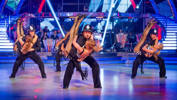 Strictly Pros Dance to 'Rock This Town' - Strictly Come Dancing: 2014 - ...