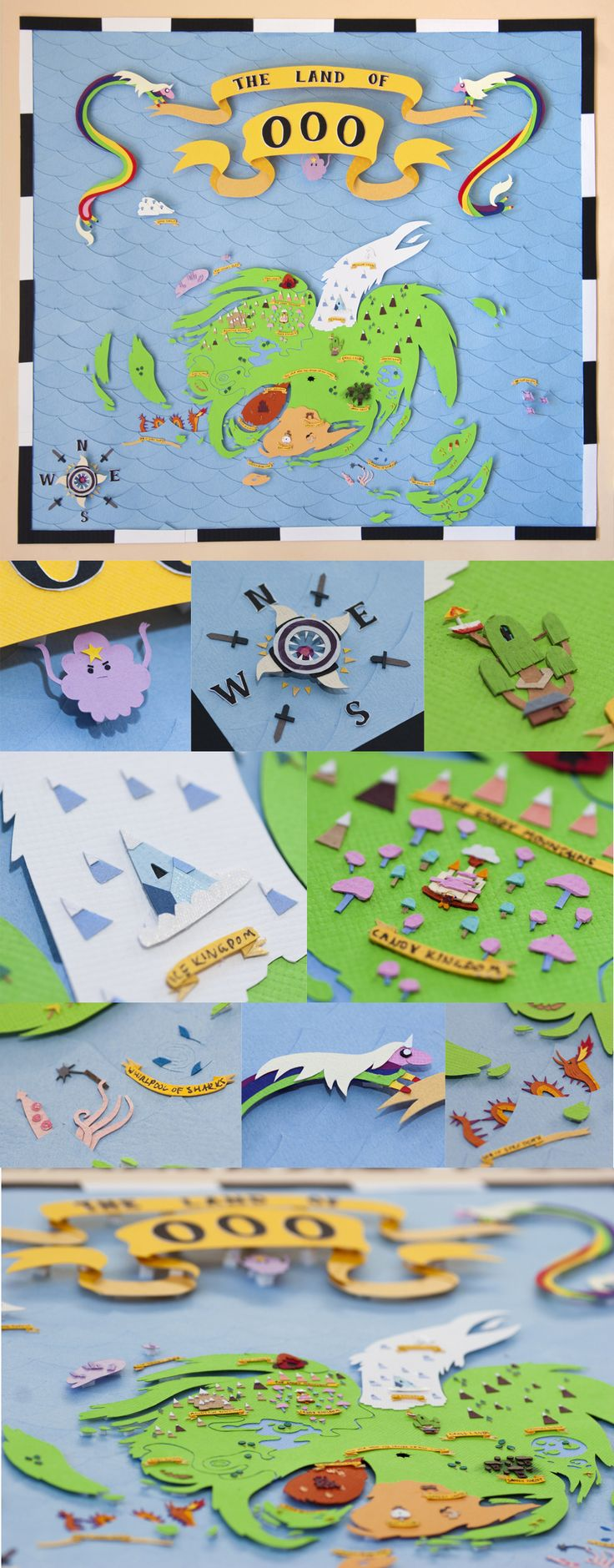 Adventure Time | Shmowzow! This is amazeballs ~ Map of Ooo by PlaidCushion.deviantart.com on @deviantART