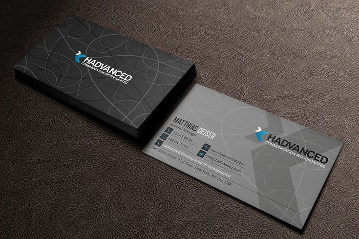 The 7 best business card images on pinterest business card design grey business card reheart Choice Image