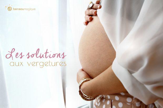 Comment éviter les vergetures durant la grossesse? Effacer, faire disparaître une vergeture. Quelles solutions? Quels produits utilisés pour atténuer les vergetures?