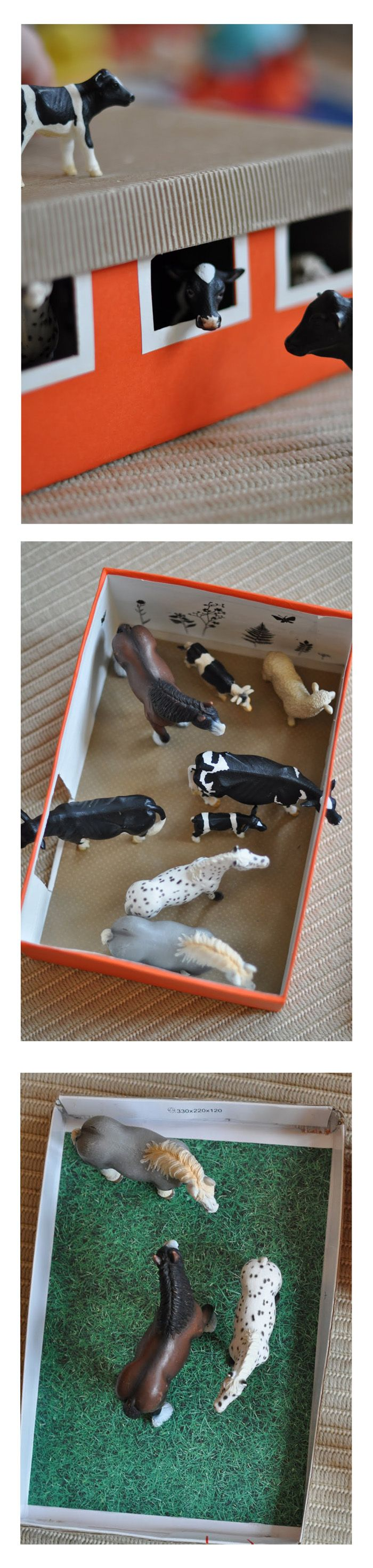 Shoebox farm #kids_activity #kiddos