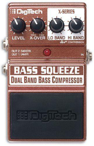 Digitech XBS Bass Multi-Band Compressor Pedal by DigiTech. $69.95. Save 33%!