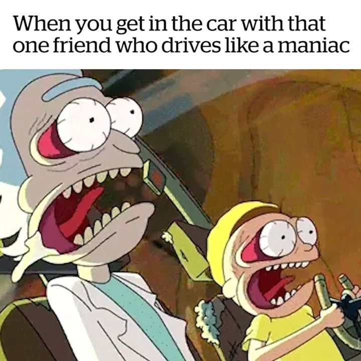 Tag a friend who's a bad driver