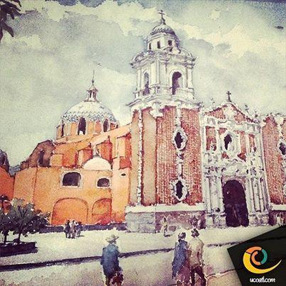 Pintura de la parroquia de Sn. José, Tlaxcala capital. #turismo #estructura #tlaxcala #ucoatl #igerstlaxcala #arte #apizaco #antigüedad #familia #vive_mexico #creatividad