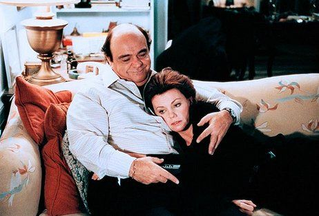 """Georgia (Marsha Mason): """"I love you. Why don't we smarten up and marry each other?"""" // Jimmy (James Coco): """"Because you're an alcoholic and I'm gay. We'd have trouble getting our kids into a good school."""" -- from Only When I Laugh (1981) directed by Glenn Jordan"""