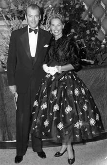 Jimmy & Gloria Stewart. I hope that I can have a lovely relationship like they had. They were married for 45 years. If that ain't love, then I don't know what it is.