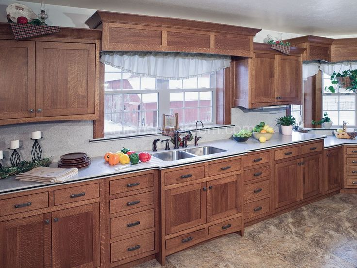 mission style kitchen cabinets