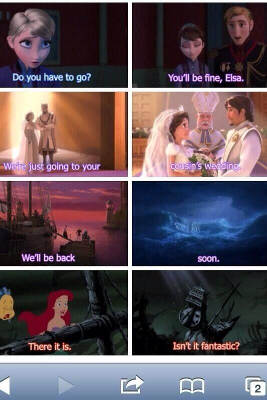 I love how Disney does this!