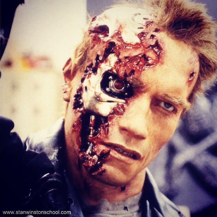 25+ Best Ideas About Terminator Makeup On Pinterest