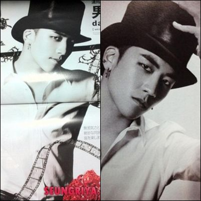 BIG BANG's Seungri appears in Glamorous magazine: