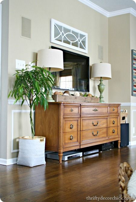 Exceptional Best 25+ Dresser Tv Ideas On Pinterest | Dresser Tv Stand, Painted  Entertainment Cabinet And Old Tv Stands